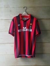 Authentic AC MILAN 1991 Mediolanum home jersey maglia camiseta trikot Gullit #10