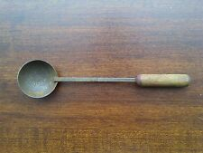 """ANTIQUE -- TOY SPOON -- WITH WOOD / WOODEN HANDLE -- """"VINTAGE"""""""