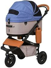 AirBuggy for Pet Stroller Dome 3 Set Large Nile Blue Ad2608 Outing Foldable