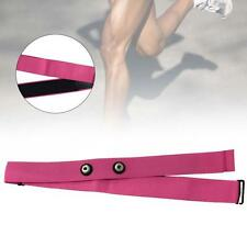 Pink Soft Sport Heart Rate Monitor Strap Chest belt for Polar Wahoo Garmin TL