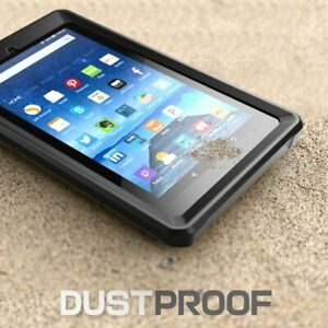 """For Amazon Kindle Fire 7.0"""" 2015, SUPCASE Hybrid Protective Cover Case + Screen"""