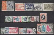 BARBADOS COLLECTION 1948--62 FINE USED COMMEMORATIVES