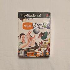 EyeToy: Play 2 (Playstation 2, ps2) Kamera und Spiel-Brandneues Sony versiegelt