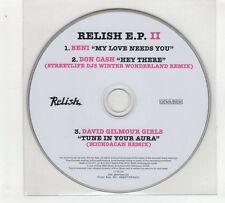 (GP978) Relish EP II, Beni/Don Cash/David Gilmour Girls - 2007 DJ CD