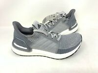 NEW! Adidas Women's UltraBoost 19 Lace Up Running Shoes Gray #EF8847 160K tz