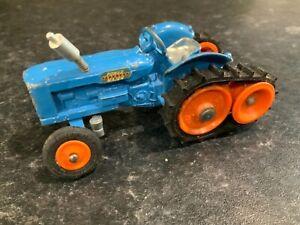 Corgi 54 Fordson Power Major Half Tracks Tractor Rare Version Lights In Grill