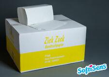 6.400 Blatt Handtuchpapier Papierhandtücher 2-lagig 25x23cm weiß NEU