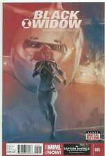 Black Widow #5 Phil Noto Marvel Comic 1st Print 2014 unread Nm