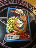 DRAGON BALL Z BEST SELECTION CARDDASS CARD 30TH PRISM CARTE 577 JAPAN MINT NEUF