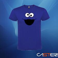 Camiseta cara monstruo come galletas (ENVIO 24/48h) VARIOS COLORES