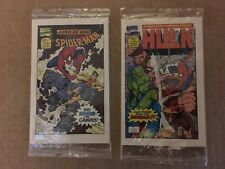 1993 Drake's Mini Marvel Comic Book Set #1-4 New NM/M Condition Spider-Man