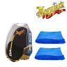 Meguiar's Da Black Waxing Power Pads & 2 Microfibre Towels