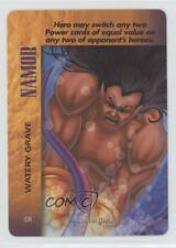 1995 Marvel Overpower Collectible Card Game #CR Namor (Watery Grave) Gaming 0c4