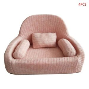 Newborn Photography Props Baby Posing Sofa 4 Pcs Pillow Chair Set FREE Shipping