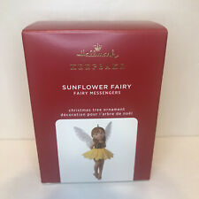 2020 Hallmark Fairy Messengers Sunflower Fairy Ornament series #16