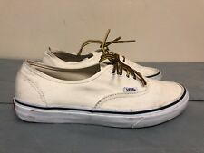 Vans Off The Wall textile upper Lace Up Shoes in off white Size Men 8.5 women 10