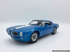 Pontiac Firebird Trans Am 1972 - blau -  1:18 Welly