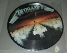 """Metallica Master of Puppets 7"""" Pic Disc import"""