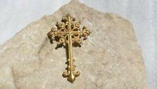 Croix Royaliste en laiton  ( Origine inconnue )