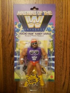 MATTEL MASTERS OF THE WWE UNIVERSE MACHO MAN RANDY SAVAGE Action Figure