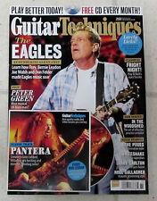 GUITAR TECHNIQUES + CD Spring 2016 EAGLES Frey FELDER Pantera CEMETERY GATES New
