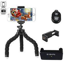 Eyexplo Phone Camera Flexible Tripod Mini Portable Cell Phone Tripod Stand NEW