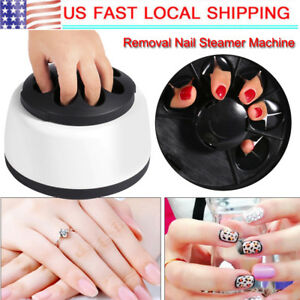 Gel Nail Polish Removal Tool-Steam Remover Gel Removal System Machine Nail Salon