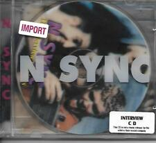 N'Sync Interview cd. Sealed 4 cd's for $5!