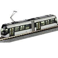 Kato 14-802-2 Toyama Light Rail Tram PORTRAM 9002 Silver - N