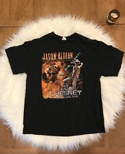 Jason Aldean Kenny Chesney The Burn it Down Tour 2015 T-Shirt Xl