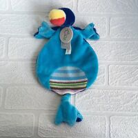 Happy Horse Lapagayo Bird Tuttle Blanket Rattle Comforter Soft Toy Parrot Baby