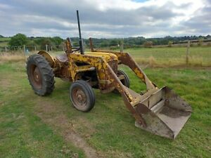 Massey 35 Tractor with loader