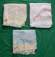 Konvolut Handtücher original alt 1930-50 sehr gute Qualität