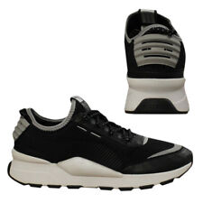 Puma RS0 Optic Pop Lace Mens Running Shoes Trainers Black Lo Top 367680 02 B101C