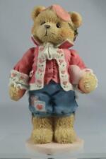 Cherished Teddies 'Darrel' Love Unveils A Happy Heart-Boy In Mask #156450 New