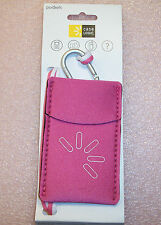 QTY (3) CASE LOGIC PINK UNP-2 POCKET PHONE CAMERA IPOD ID CARRYING CASE