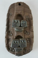 Eulen aus Ton in Steinoptik Eulenfigur Steinfigur Dekofigur, Sammlerfigur (Nr.5)