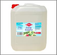 Essigessenz 25% 5kg ( Essig-Essenz aus Essigsäure ) - auch zum Entkalken ideal
