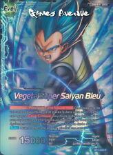 Dragon Ball Super Card Game ! Vegeta Super Saiyan Bleu BT1-028 R - VF/RARE
