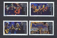 ALEMANIA BERLIN GERMANY 1988 MNH SC.9NB257/60 Music