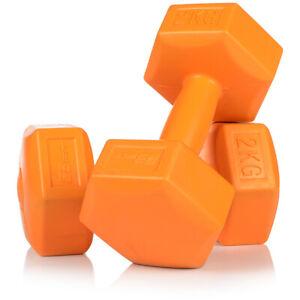 Hantelset 2 x 2kg Kurzhanteln Gewichte Fitness Aerobic hochwertig 2er Set Bizeps