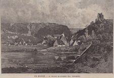 1886  --  LE VILLAGE DE LAVARDIN   3I368