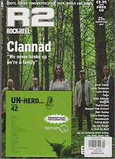 R2 (ROCK n REEL) MAGAZINE + CD NOV/DEC 2013, 25th Anniversary Year, CLANNAD.