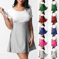 Women Zipper Shoulder Straps Pleated Dress Underskirt A-Line Tutu Slip Skirt