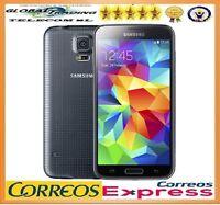 SAMSUNG GALAXY S5 G900f 4G LTE NEGRO LIBRE TELEFONO MOVIL SMARTPHONE OCASION