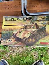 1/35 Meng Panther late partially completed