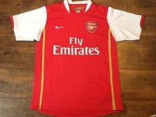 2006 2008 Arsenal Hogar Camiseta De Fútbol Adultos Medio Jersey Maglia Camiseta