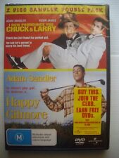 I NOW PRONOUNCE YOU CHUCK & LARRY / HAPPY GILMORE - 2-Pack DVD New- Adam Sandler