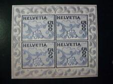 Zwitserland Zijdeblok-stickerei blok 2000 postfris-mnh RARE