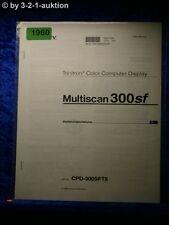 Sony Bedienungsanleitung CPD 300SFT5 Multiscan 300sf Computer Display (#1960)